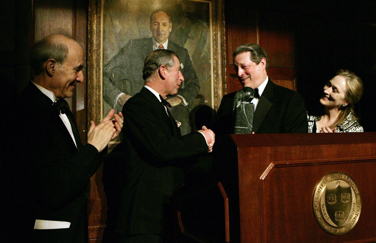 Al Gore, Prince Charles, - Global Environmental Citizen Award