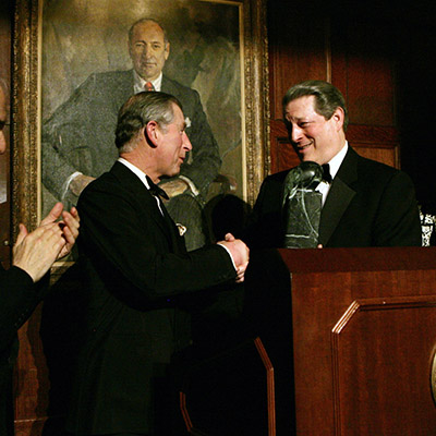 Prince Charles, Al Gore - Global Environmental Citizen Award