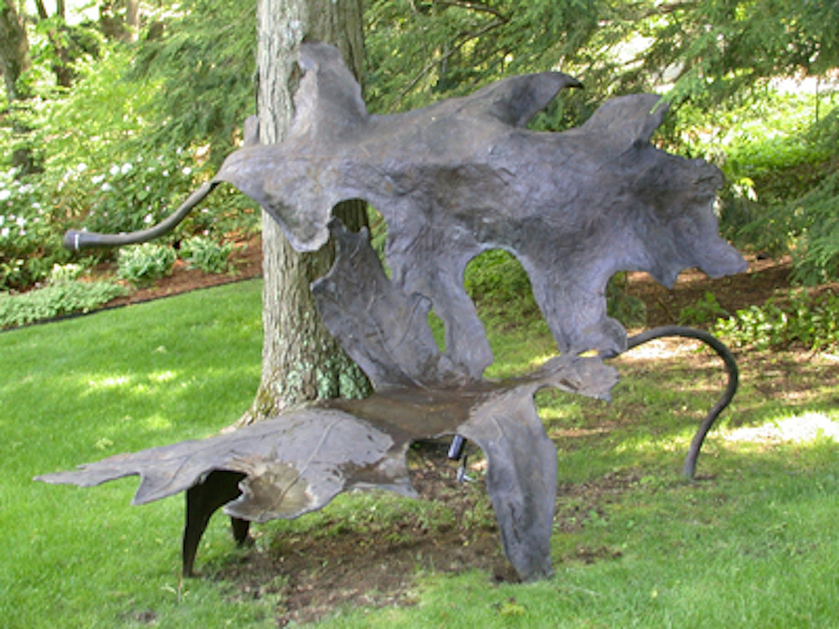Jim Sardonis - Leaf Bench