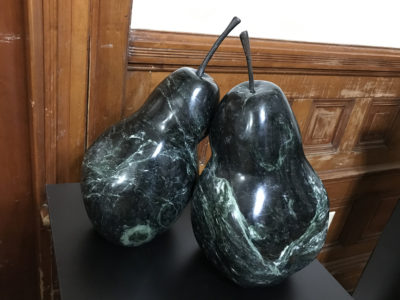 James Sardonis - Verde Antique Marble Pair