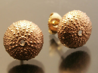 jim Sardonis - Gold Urchin Earrings